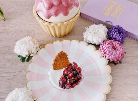 #TheFoodieModel: Snack de Cranberries para la oficina
