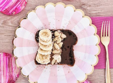 #TheFoodieModel: Sugar Free Choco-Banana Toast