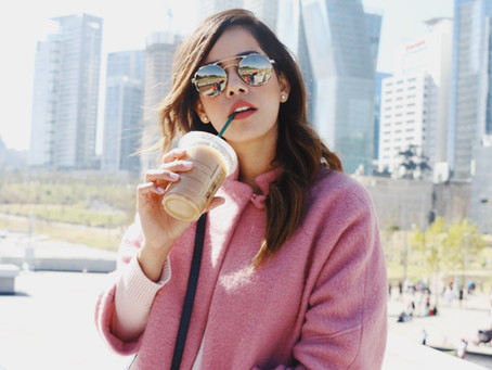 #StreetStyle: pink sunday at the park