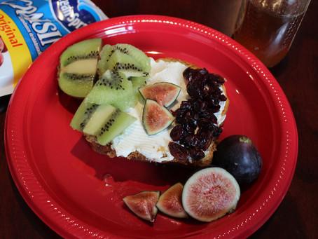 #TheFoodieModel Recipe: Postre a la Mexicana: Verde, blanco y Cranberries.