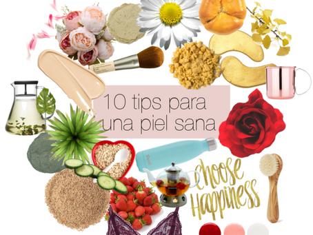 #Beauty: 10 tips para una piel sana