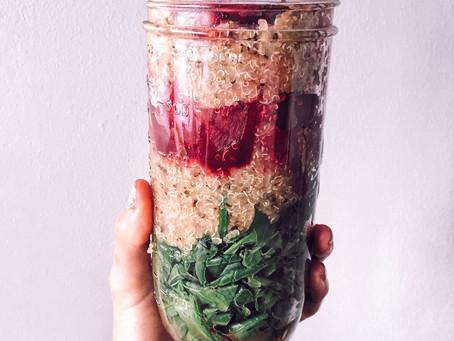 #TheFoodieModel Recipe: Ensalada de Quinoa y Betabel