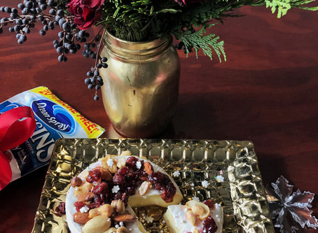 #TheFoodieModelRecipe: Botana Navideña con Queso Brie + Cranberries