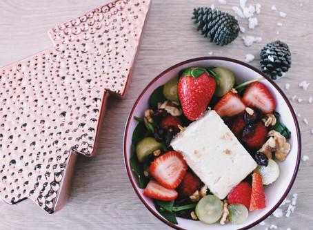 #TheFoodieModel: Ensalada Navideña con cranberries.