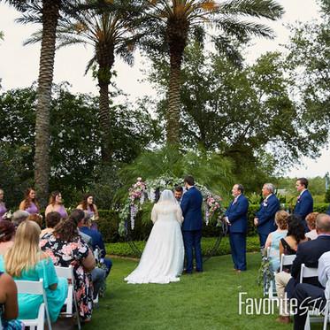 Elegant Purple & Ivory Wedding at Nocatee Crosswater Hall in Ponte Vedra, Florida