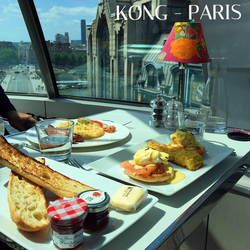 Sunday's_brunch_☀️@juliocortes1706_#Kong_#KongParis_#France_#Brunch_#eatsparis_#