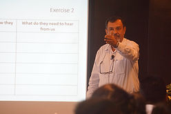 Devdarshan Chakrabortyy conducts Speaker Training