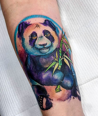 Amy Zager Watercolor Tattoo Artist