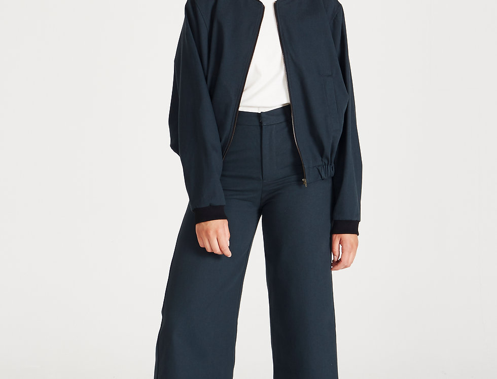 GIVN Brina Trousers Dark Blue