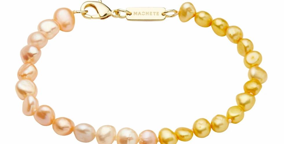 Machete Mixed Freshwater Pearl Bracelet