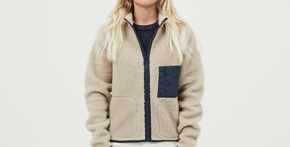 Knowledge Cotton Apparel Betony fleece sweat with zip