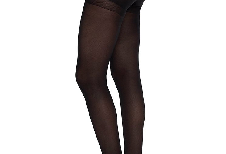 SWEDISH STOCKINGS Anna Control Top Tights Black
