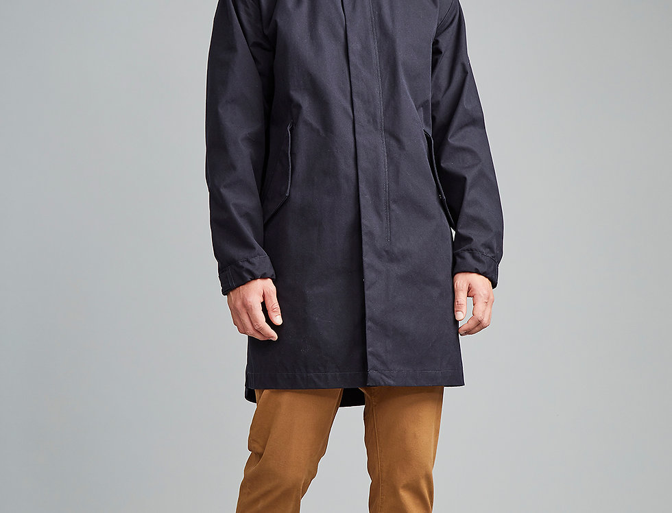 LangerChen Regenparka Stockton in navy