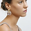 Thumbnail: Machete Chunky Hoops in Gold mit Anhänger in Canyon