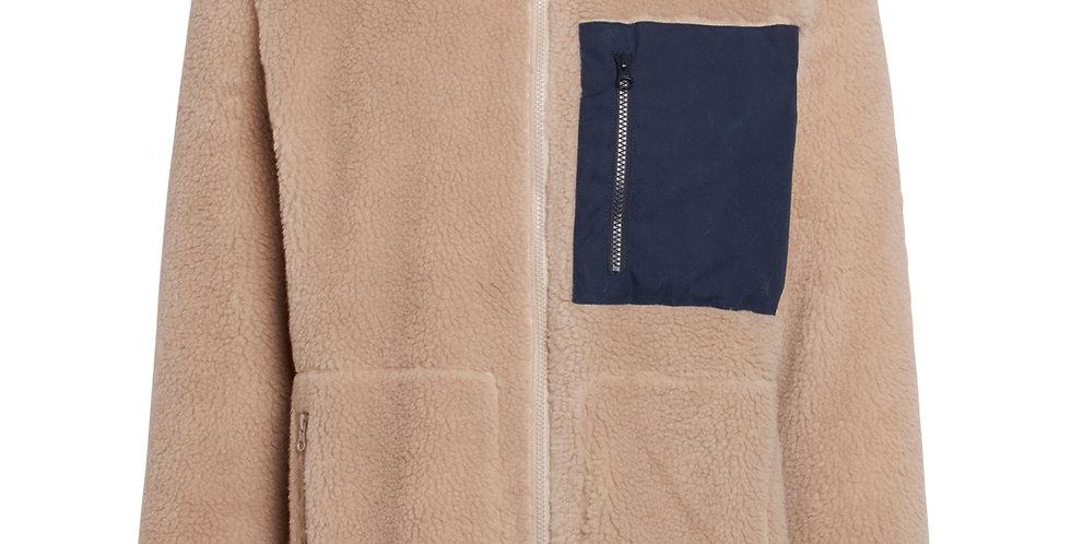 Knowledge Cotton Apparel Elm teddy fleece sweat