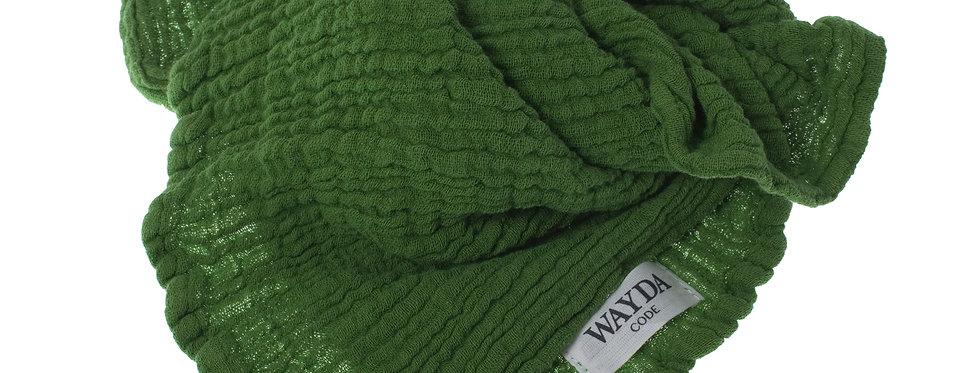 Wayda Tuch Green Matcha 70x70