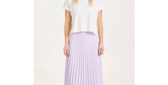 Knowledge Cotton Apparel Daffodil pleated midi skirt
