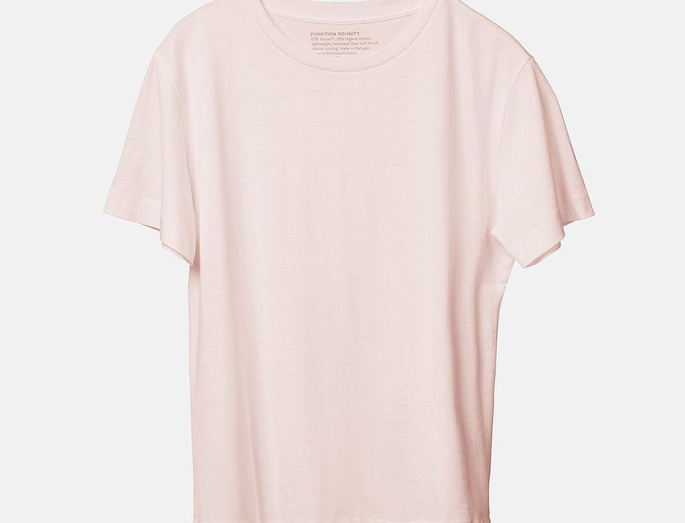 FUNKTION SCHNITT T-Shirt Tone Holz Pink Majolica
