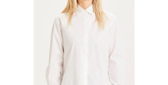 Knowledge Cotton Apparel Juniper loose long shirt