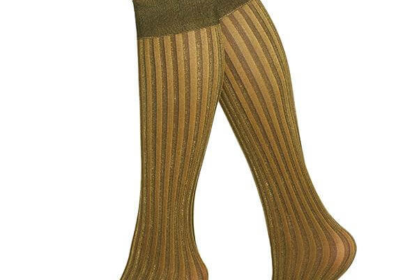 Swedish Stockings Hilda Knee-Highs Gold