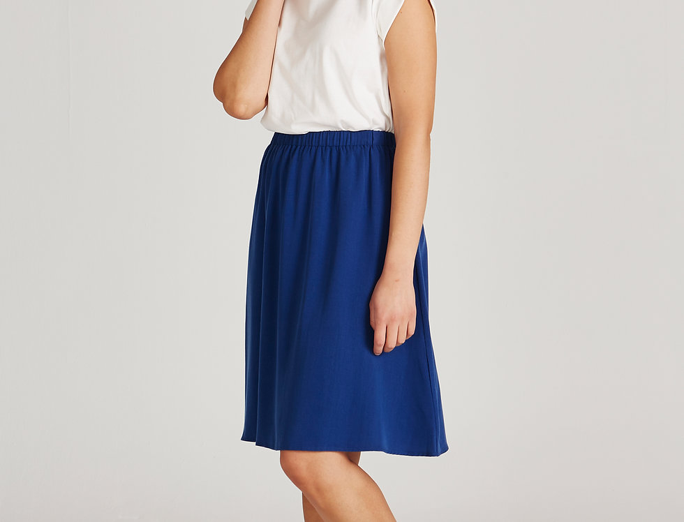 GIVN Lily Skirt Navy Blue