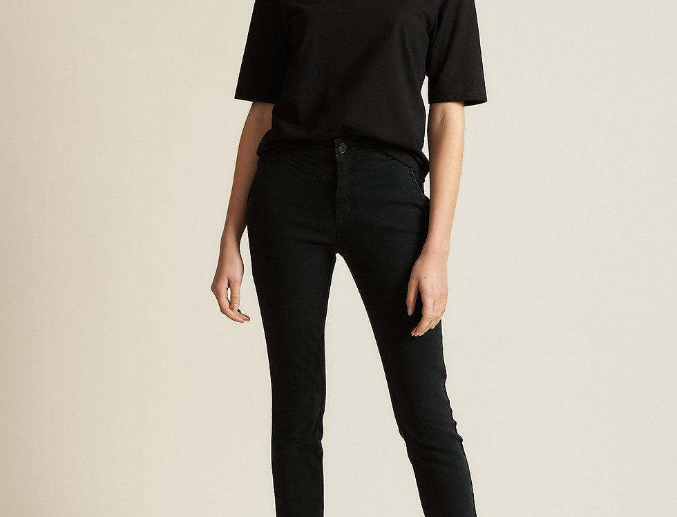 LANIUS High Waist Jeans black denim