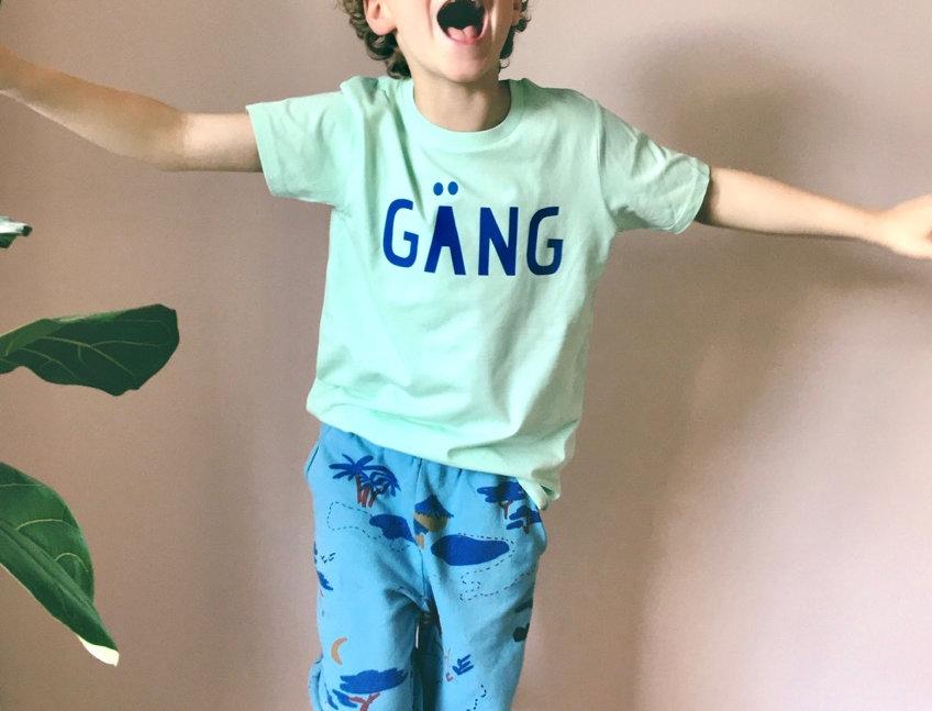 GÄNG Shirt by LOVE IT GREEN