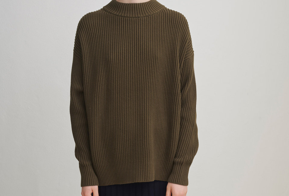 FUB Oversized Sweater forest