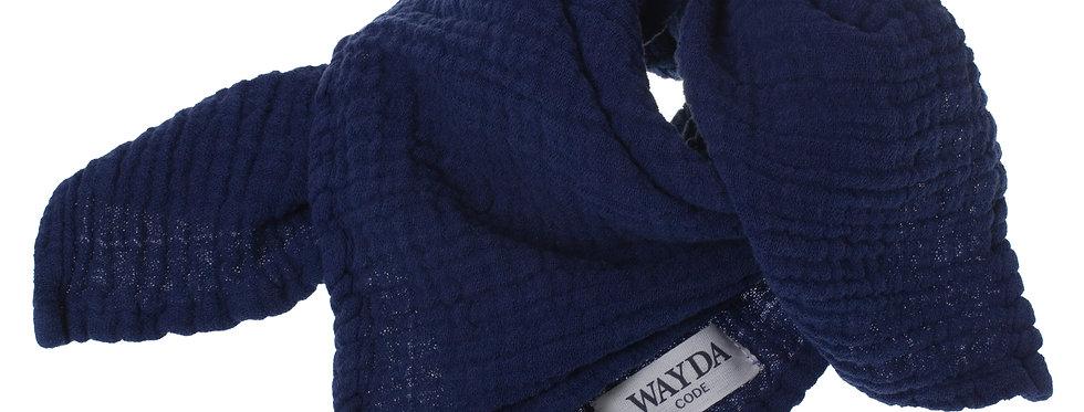 Wayda Tuch Blue Pond 70x70