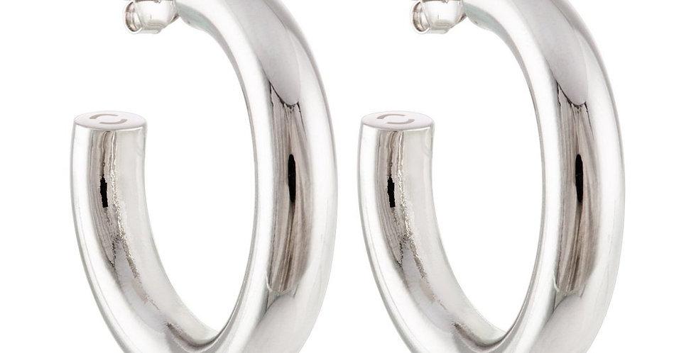 Machete Perfect Hoops in Silver