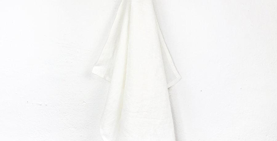 Leinen Geschirrtuch in weiß