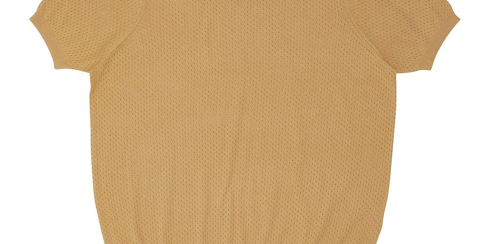FUB Pointelle T-Shirt yellow