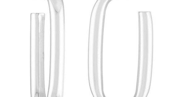 Machete Maya Earring in Sterling Silver