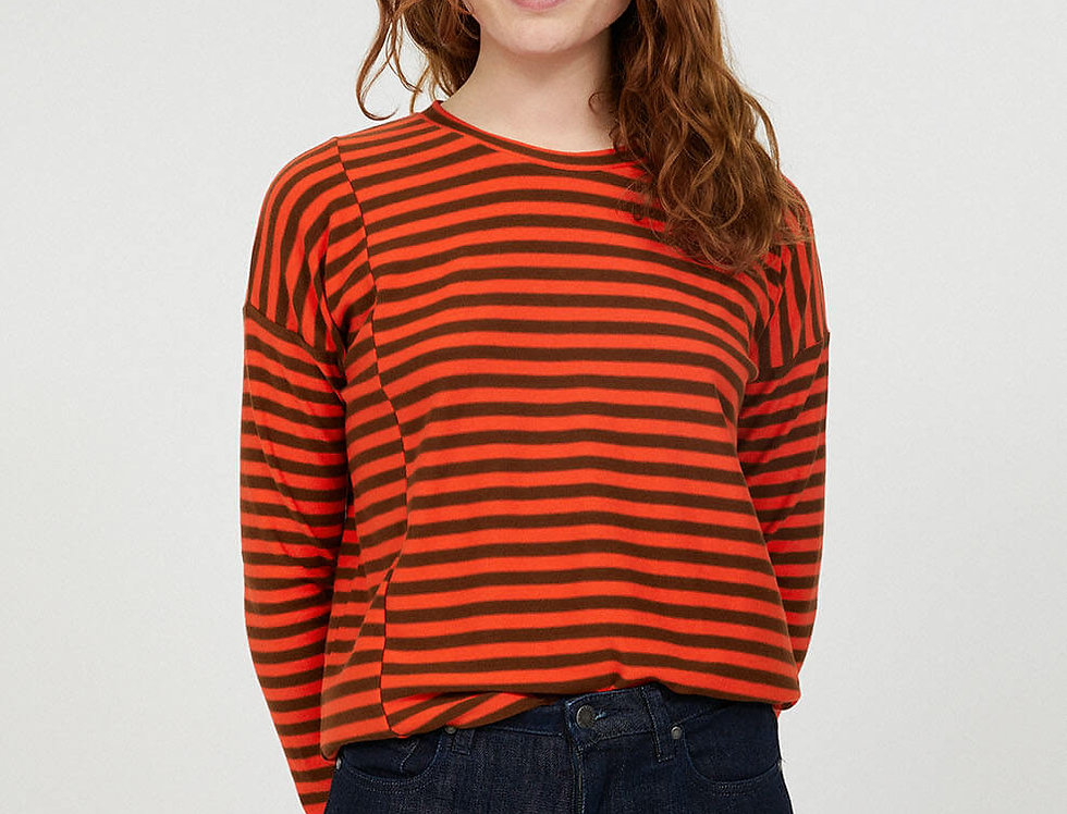 ARMEDANGELS Longsleeve Palinaa Knitted Stripe