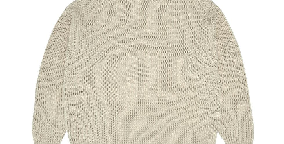 FUB Rib Sweater Ecru