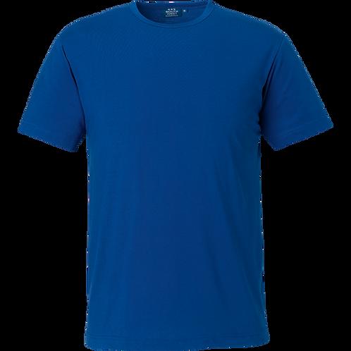 Kobolt blå Delray slimfit herre bomulds t-shirt, 2 stk.