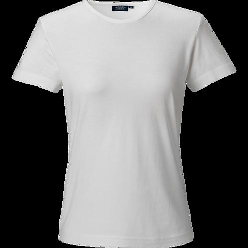 Hvid Venice t-shirt til kvinder, slimfit 2 stk.