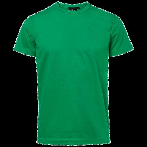 Grøn Delray slank herre  bomulds t-shirt 2 stk.