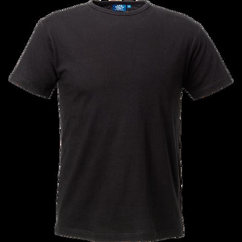 Sort Delray slimfit herre t-shirt, 2 stk.