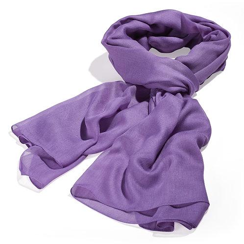 Tørklæde 100x200cm lilla
