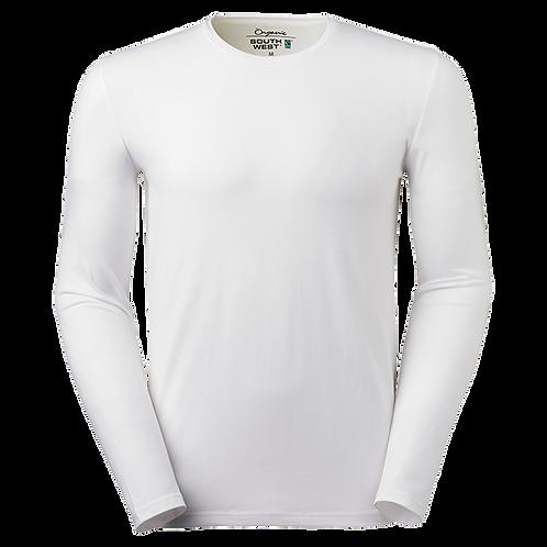 Fairtrade,  hvid t-shirt i økologisk bomuld