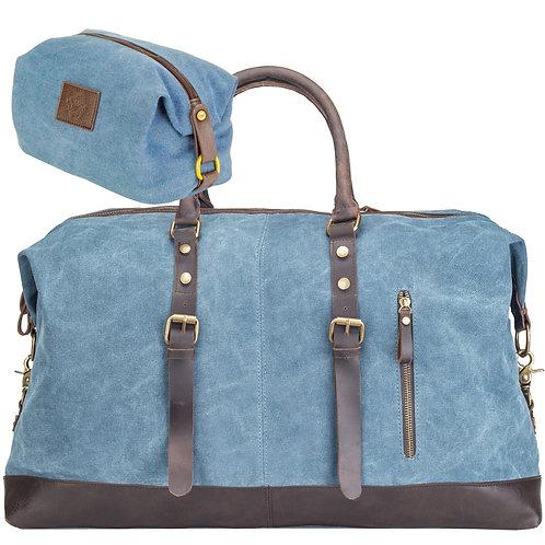 Rejsetaske sæt - blå