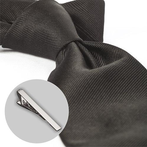 Sort slips og klemme i gaveæske