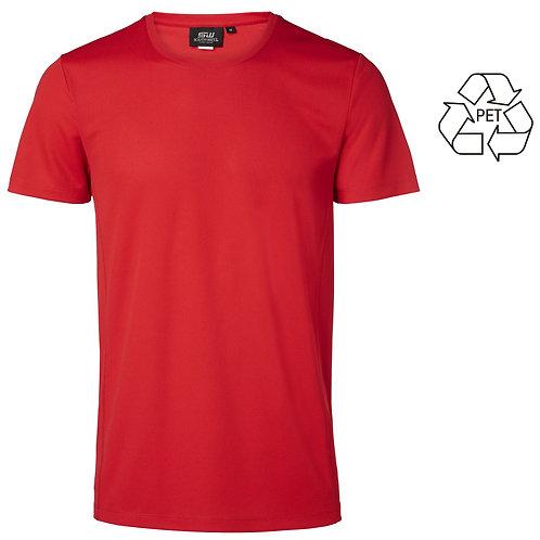 Recycle af pet flasker, junior t shirt rød i 2 stk pakning