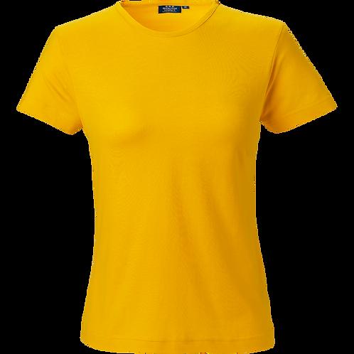 Varm gul Venice dame t-shirt slimfit 2 stk.