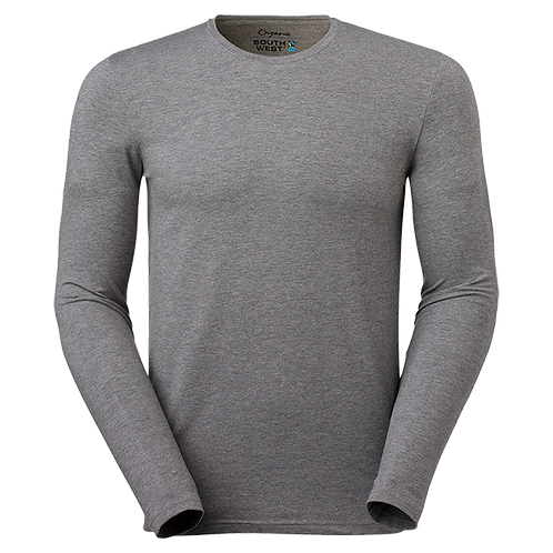 Fairtrade,  grå t-shirt i økologisk bomuld