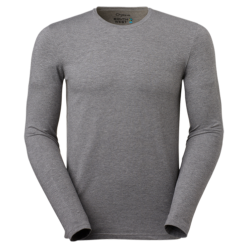 a43663f1 Fairtrade, grå t-shirt i økologisk bomuld