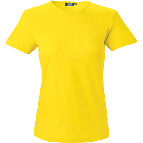 Gul Venice dame t-shirt slimfit 2 stk.