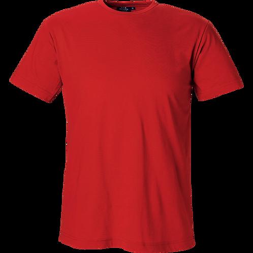 Rød Delray slimfit herre t-shirt i bomuld, 2 stk.