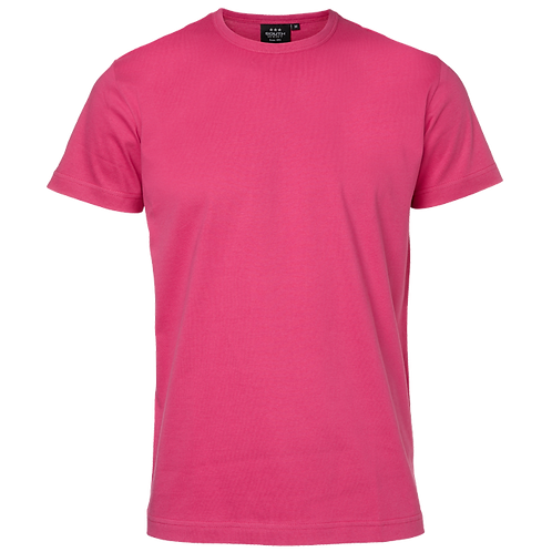 Pink Delray slimfit herre t-shirt, bomuld, 2 stk.